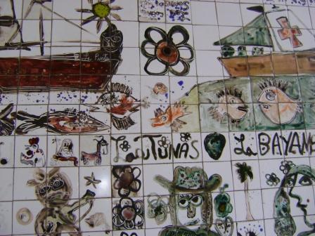 Detalle de la mesa de la cubanía