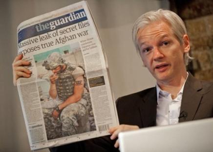 Julian Assange en Londres