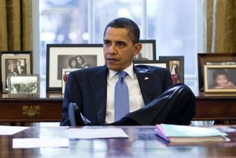 Barack Obama, en el Despacho Oval de la Casa Blanca el pasado 7 de noviembre.- AFP