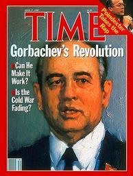 Mijaíl Gorbachov en la portada de la revista TIME