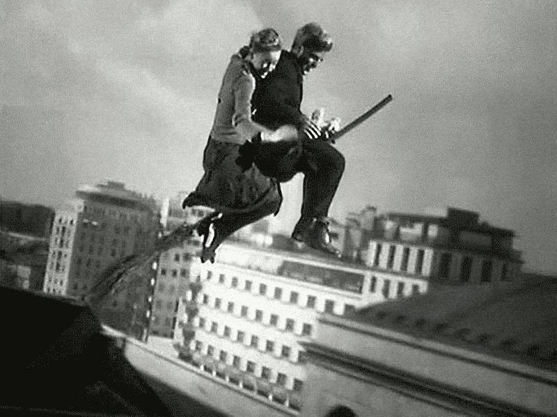 """Fotograma de """"Milagro en Milán"""""""