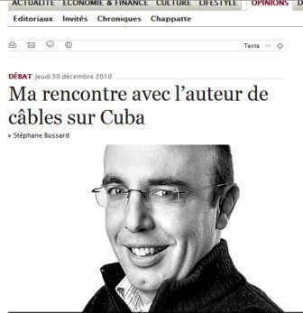 """Michael Parmly, entrevistado por """"Le Temps"""""""