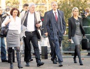 Assange este martes en Londres
