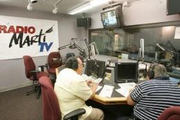 Estudios de Radio Martí