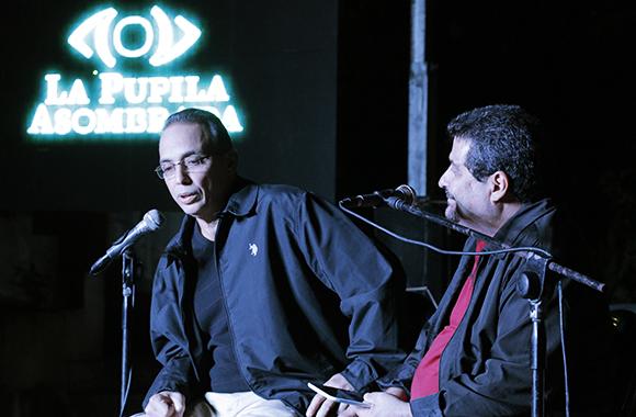 """Con Tony Guerrero en """"La pupila asombrada"""""""