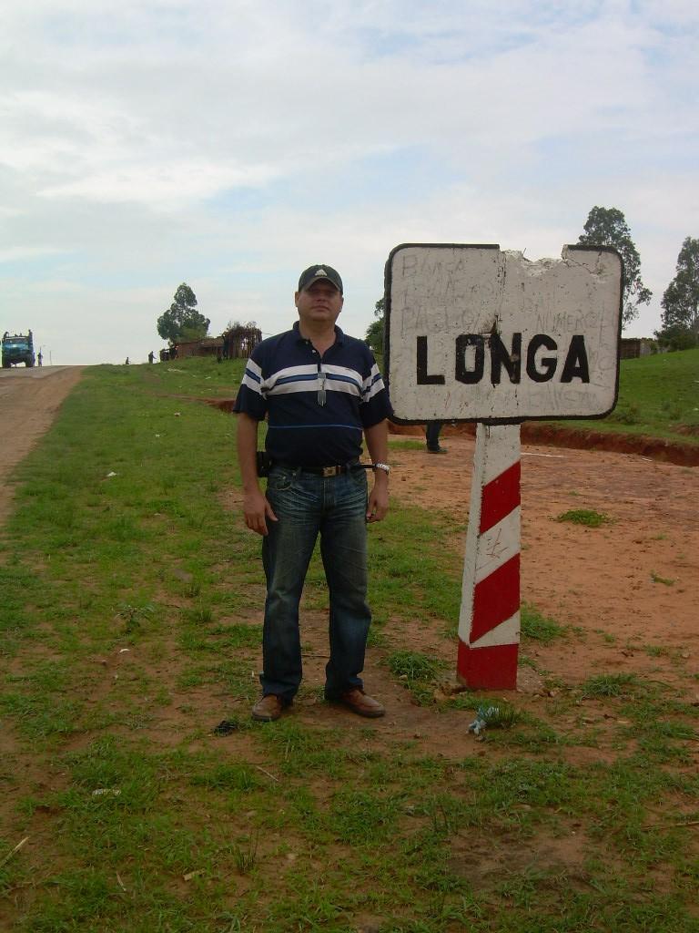 El autor en Longa, 2016