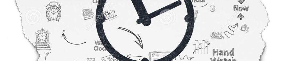 concepto-de-la-cronología-reloj-en-fondo-de-papel-rasgado-56015365