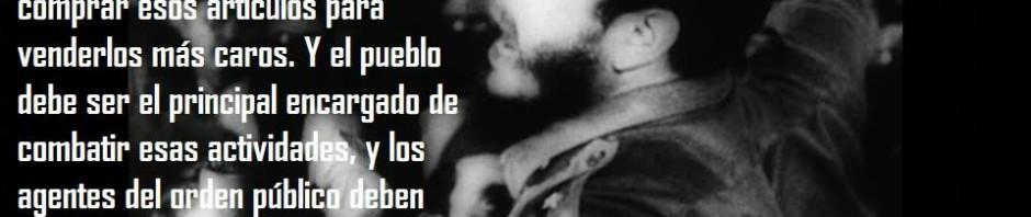 Fidel especulación