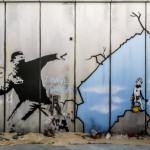 Imagen de la exposición de Banksy en París, Foto de la autora