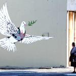 Banksy en Belén, Foto David Silverman, El País