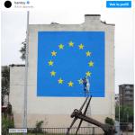 Foto sacada del sitio oficial de Banksy en Instagram