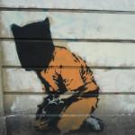 Guantanamo bay's prisoner, Londres, 2007. Foto Banksy