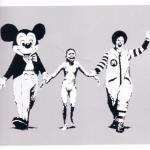 Banksy, 1994, Imagen sacada de su libro Wall and piece (2005 : 111)